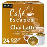 Café Escapes® Chai Latte, K-Cup® Pods, 24 Count