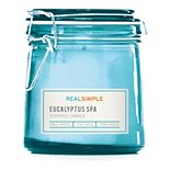 Real Simple Eucalyptus Spa 7-oz. Candle Jar