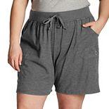 Plus Size Champion® Jersey Shorts