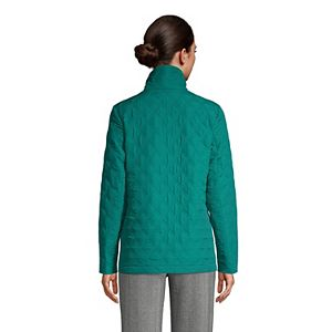 Women's Lands' End Packable Quilted Barn Jacket