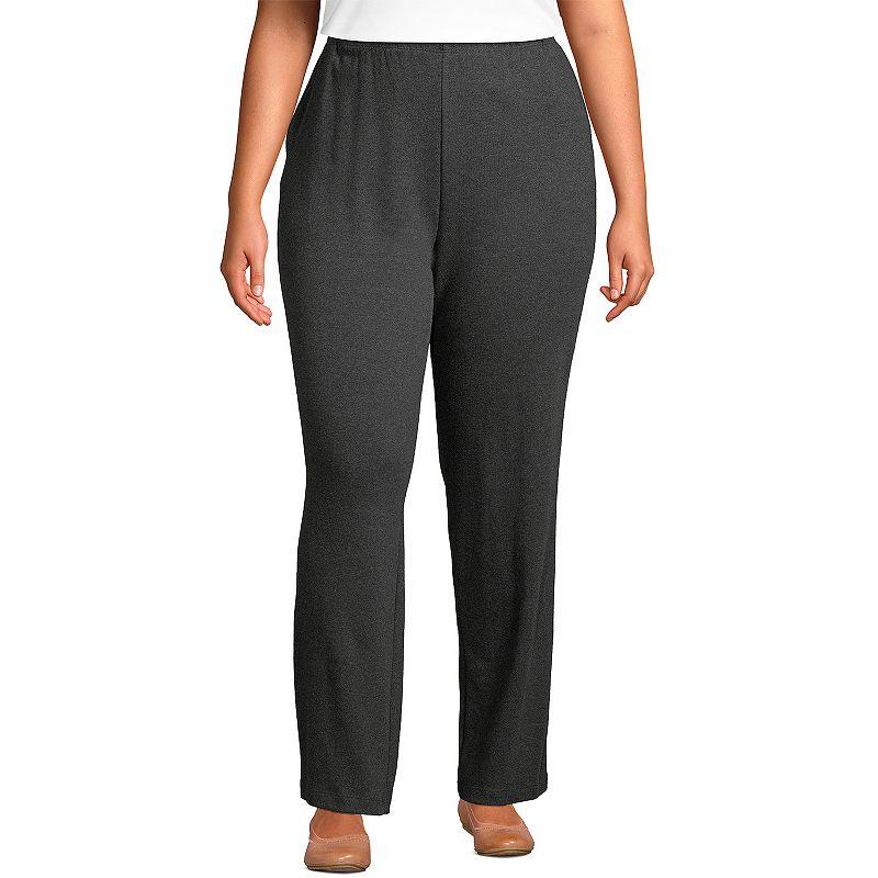 Petite Lands' End Sport High Waist Pants. Women's. Size: XS Petite. Grey