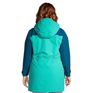 Plus Size Lands' End Squall Insulated Winter Parka