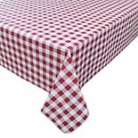 Celebrate Americana Together Classic Gingham Finyl Tablecloth