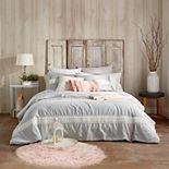 Peri Tufted Dot Stripe Comforter Set