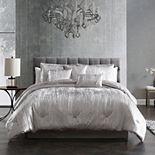 Riverbrook Home Turin Crinkle Velvet 7-piece Comforter Set