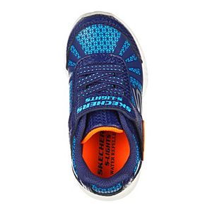Skechers® S Lights Illumi-Brights Toddler Boys' Water-Resistant Light-Up Shoes