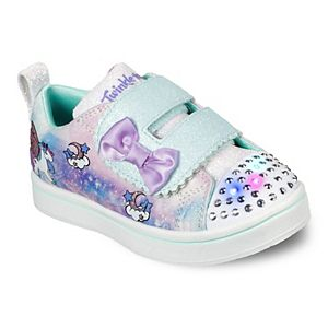 Skechers® Twinkle Toes Sparkle Rayz Unicorn Moondust Toddler Girls' Light-Up Shoes