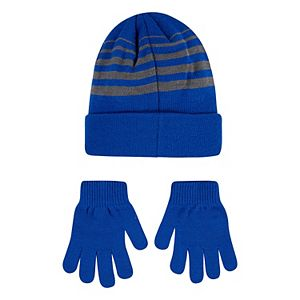 Boys 8-20 Nike Beanie & Gloves 2-Piece Set
