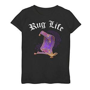 Disney's Aladdin Girls 7-16 Rug Life Graphic Tee