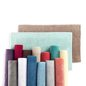 Sonoma Goods For Life® Cotton Reversible Solid Border Bath Rug