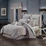 37 West Genesis Charcoal Comforter Set