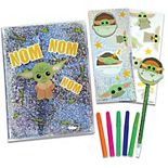 Star Wars The Mandalorian- Baby Yoda The Child Journal Activity Set