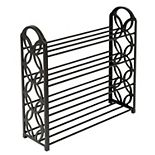 Honey-Can-Do 4-Shelf Lightweight Shoe Rack