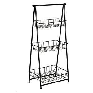 Honey-Can-Do 3-Tier Folding A-Frame Entryway Shelf