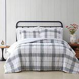 Cottage Classics Plaid Comforter Set with Shams