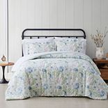Cottage Classics Field Floral Comforter Set with Shams