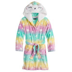 Cuddl Duds® Girls 4-14 Patterned Robe