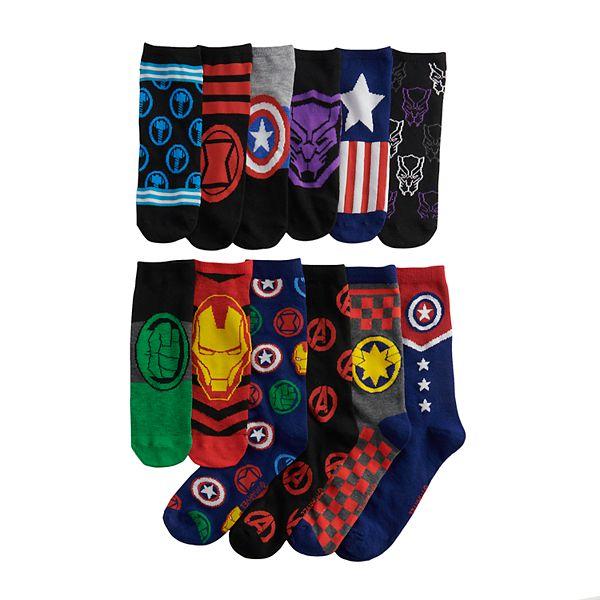 Men S 12 Days Of Socks Marvel