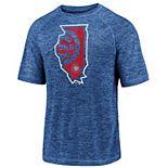 Men's Fanatics Chicago Cubs Team State Pride Tee
