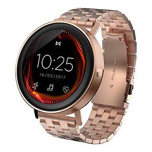 Misfit Vapor Women's 44 mm Rose Gold Tone Stainless Steel Smart Watch - MIS7008