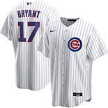 Men's Nike Chicago Cubs Kris Bryant Replica Jersey
