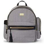 Carter?s Striped Handle It All Backpack Diaper Bag