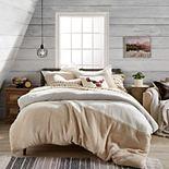 G.H. Bass Colorblock Sherpa Comforter Set