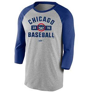 Men's Nike Chicago Cubs Cooperstown Vintage Tee