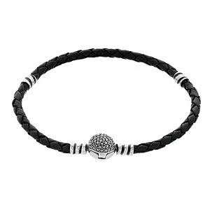 Lavish by TJM Braided Leather Cord Bracelet