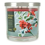 Sonoma Goods For Life® 14-oz. Winter Berry & Spruce Triple Pour 3-Wick Candle