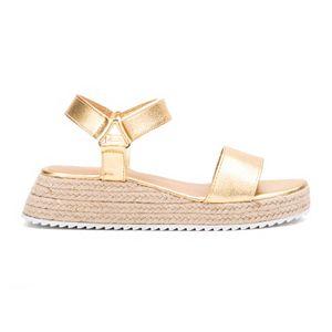 Olivia Miller Together Forever Women's Espadrille Platform Sandals