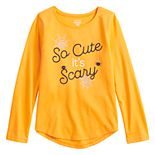 Girls 4-12 Jumping Beans® Glow-in-the-Dark Halloween Graphic Tee