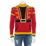 Men's Mockneck Nutcracker Fringe Sweater