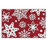 St. Nicholas Square® Snowflake Accent Rug