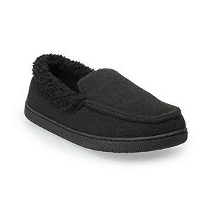 Boys 4-20 Cuddl Duds Mocassin Slippers