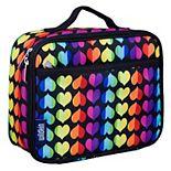 Girls Wildkin Rainbow Hearts Lunch Box