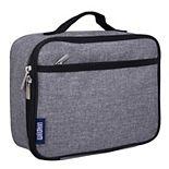 Neutral Wildkin Gray Tweed Lunch Box