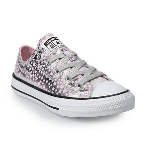 Girls' Converse Chuck Taylor All Star Metallic Star Sneakers