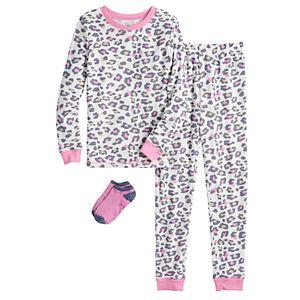 Cuddl Duds 4-14 Pajamas with Socks
