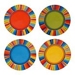 Certified International Sierra 4-pc. Salad Plate Set