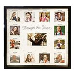New View Through the Years Graduation 13-Opening Collage Frame