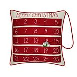 St. Nicholas Square® Santa Advent Throw Pillow