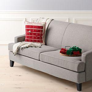 St. Nicholas Square® Santa Advent Throw Pillow