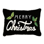 St. Nicholas Square® Merry Christmas Throw Pillow
