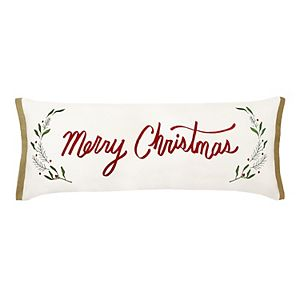 St. Nicholas Square® Merry Christmas Throw Pillow