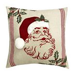 St. Nicholas Square® Santa Throw Pillow