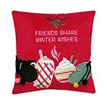 St. Nicholas Square® Friends Mini Throw Pillow