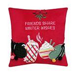 St. Nicholas Square® Friends Mini Throw Pillow