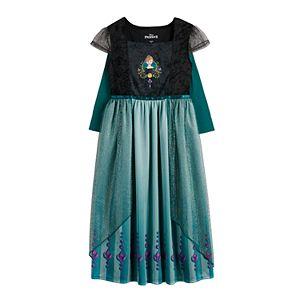 Disney's Frozen 2 Girls 4-8 Anna Is Royalty Epilogue Fantasy Nightgown