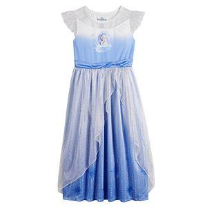 Disney's Frozen 2 Elsa & Nokk Girls 4-8 Fantasy Nightgown